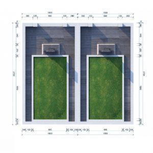 mộ đôi sala garden
