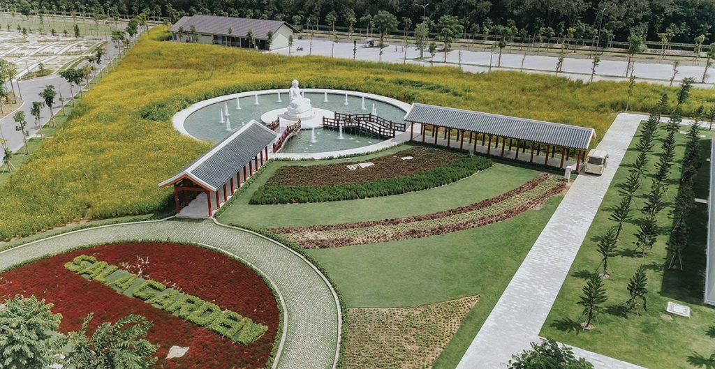 Đền Trình dự án Sala Garden