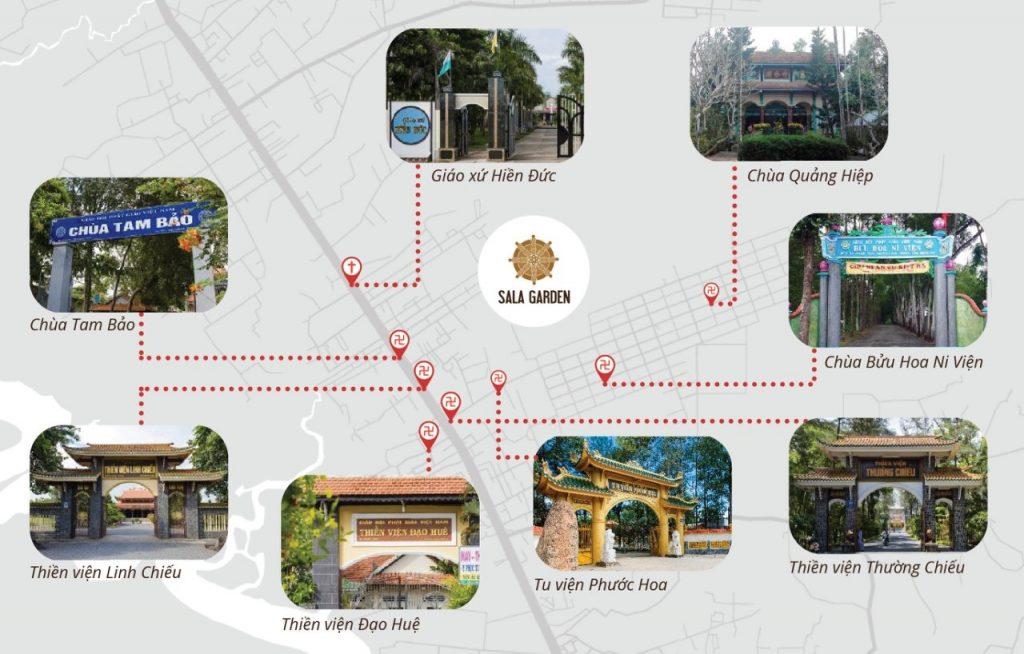 vị trí sala garden