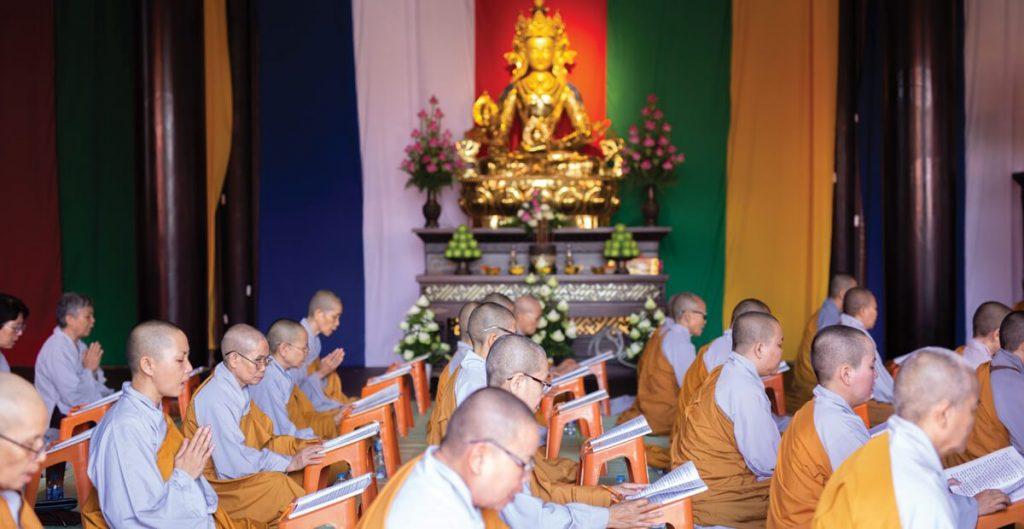 Sala Garden thường xuyên tổ chức các sự kiện tâm linh như: cầu an, cầu siêu...