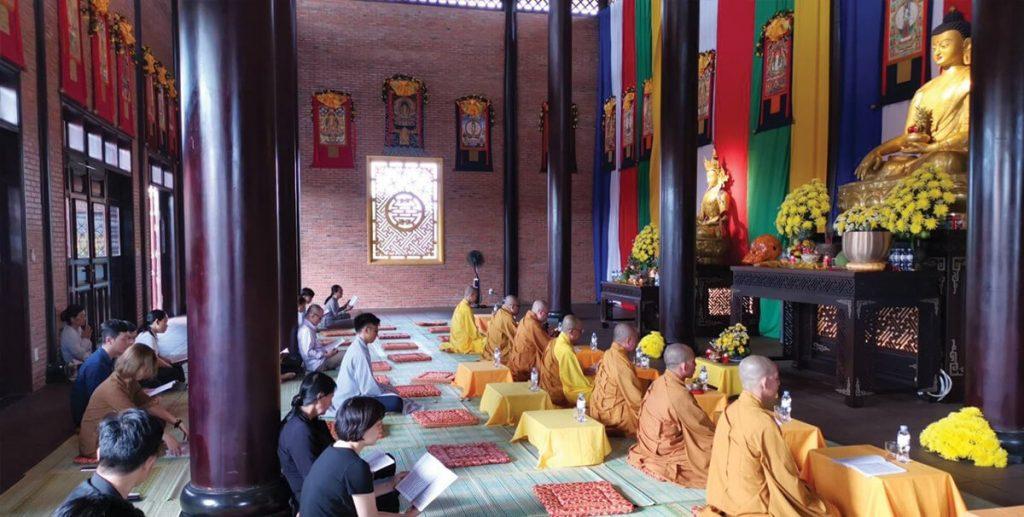 Lễ cầu an tháng 10 tại dự án Sala Garden