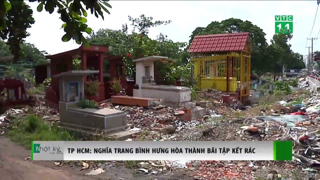 Nghĩa trang truyền thống ô nhiễm