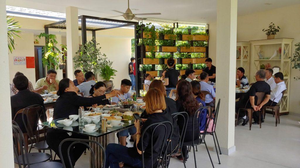 nhà hàng chay Sala Garden