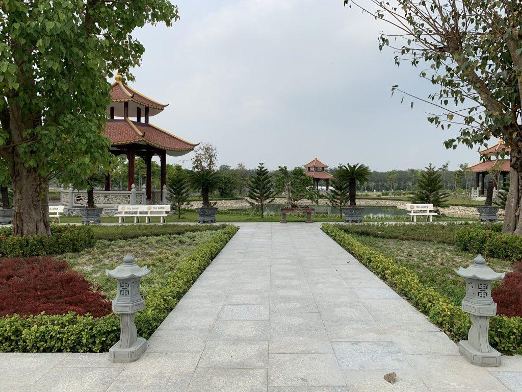 Sala Garden là một khu vườn an lạc cho người đã khuất và gia quyến