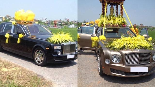 Xe đưa tang trang trọng và tôn nghiêm