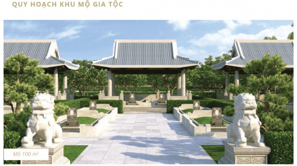 Quy hoạch mộ gia tộc tại Sala Garden