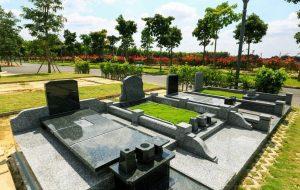 Mẫu mộ nhật bản tại sala garden