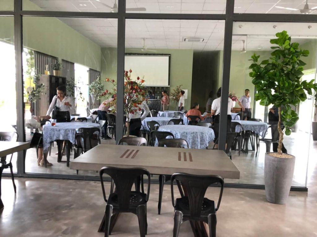 nhà hàng zen tại sala garden