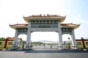 Sơn Trang Tiên Cảnh là hoa viên áp dụng mô hình hoa viên nghĩa trang tại Malasia đầu tiên của Việt Nam